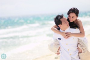 Bluewater Sumilon Island Resort Cebu Post-Wedding Session - Jayson and Meriel