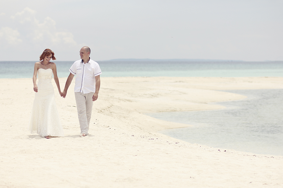 Bantayan Island Post Wedding Session of Russian couple, Aljona and Anatole
