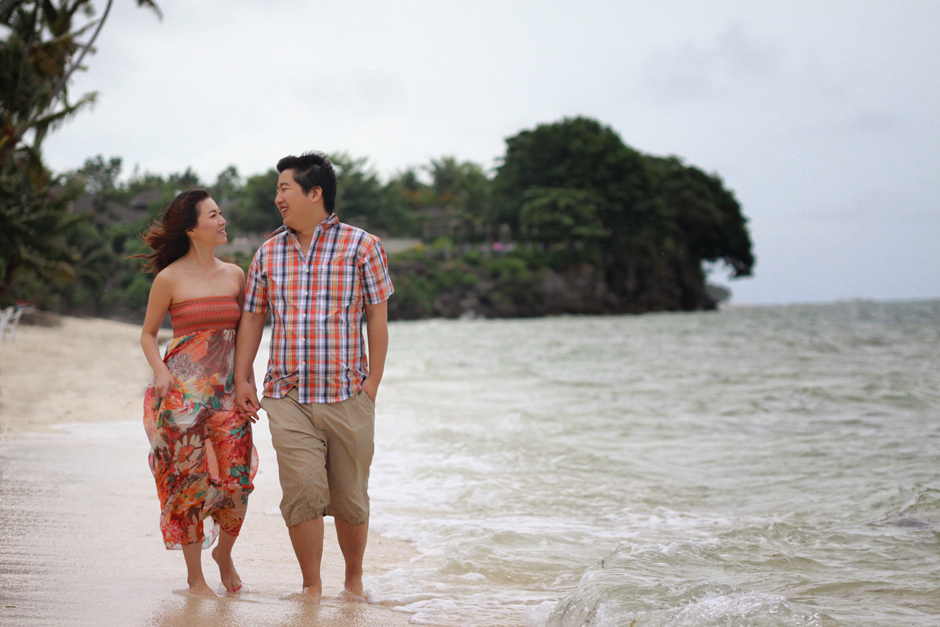 Bohol Panglao Engagement Session - Zoe and Chao