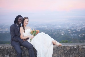 Chateau De Busay Garden Wedding – Bamshak and Makayla