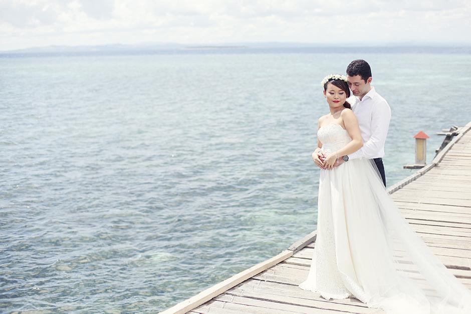 Nalusuan Island Cebu Engagement Session – Omar and Xiaowen