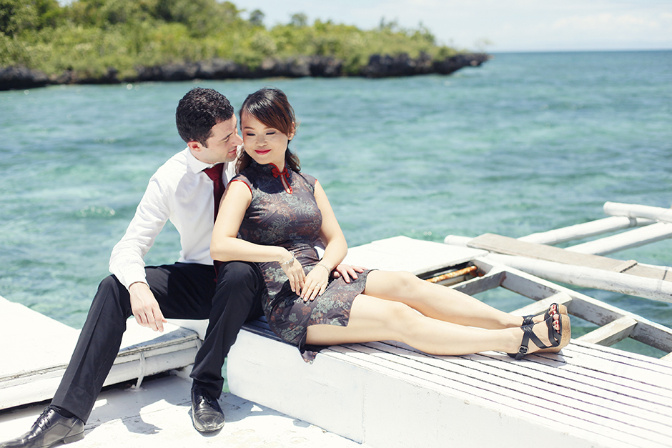 Nalusuan Island Cebu Engagement Session – Omar and Xiaowen