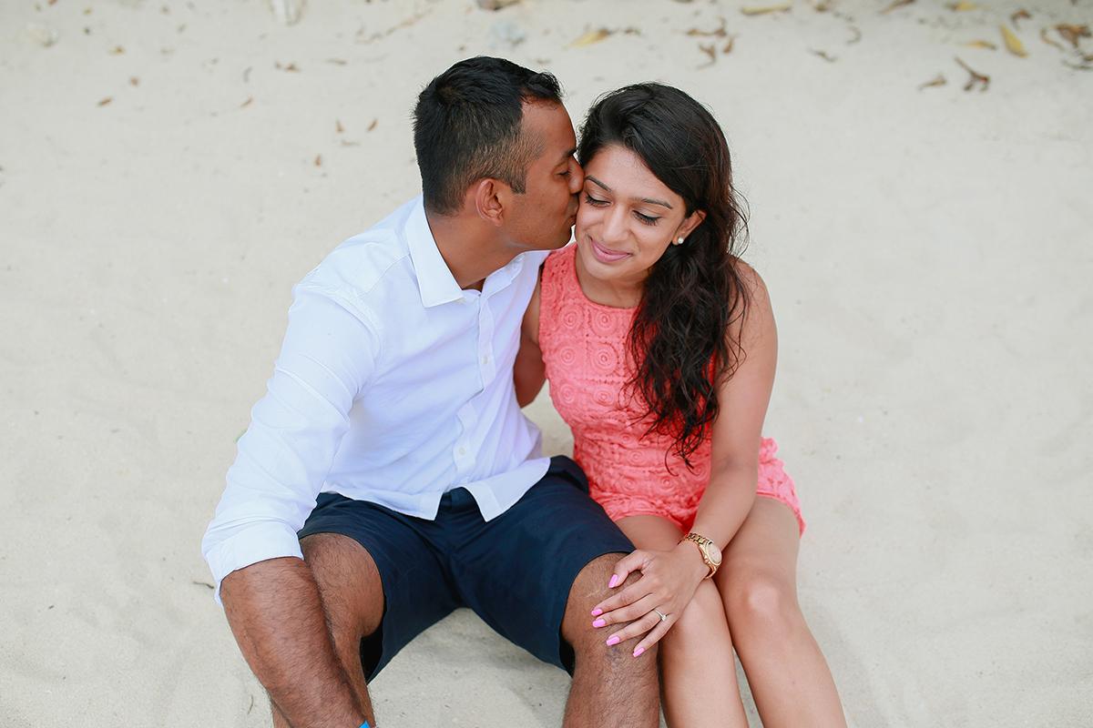 Bantayan Island Wedding Proposal - Ankush & Kirti