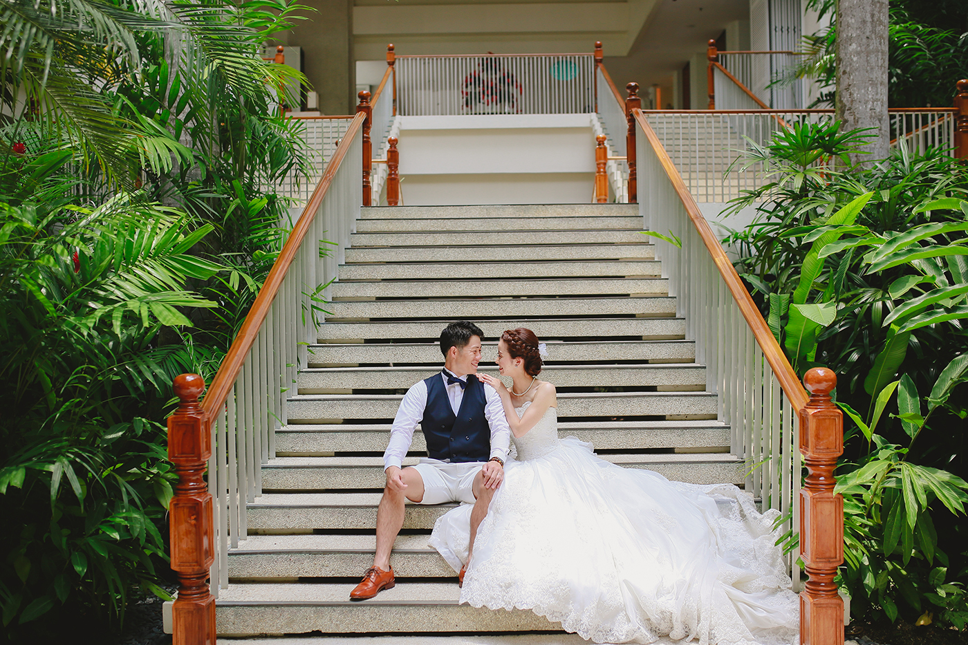 Shangri-la Mactan Post Wedding - Yudai & Kana