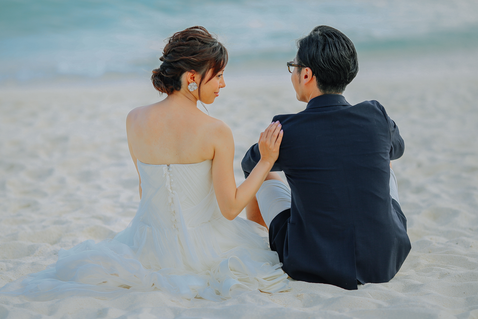 Beach Wedding in Cebu