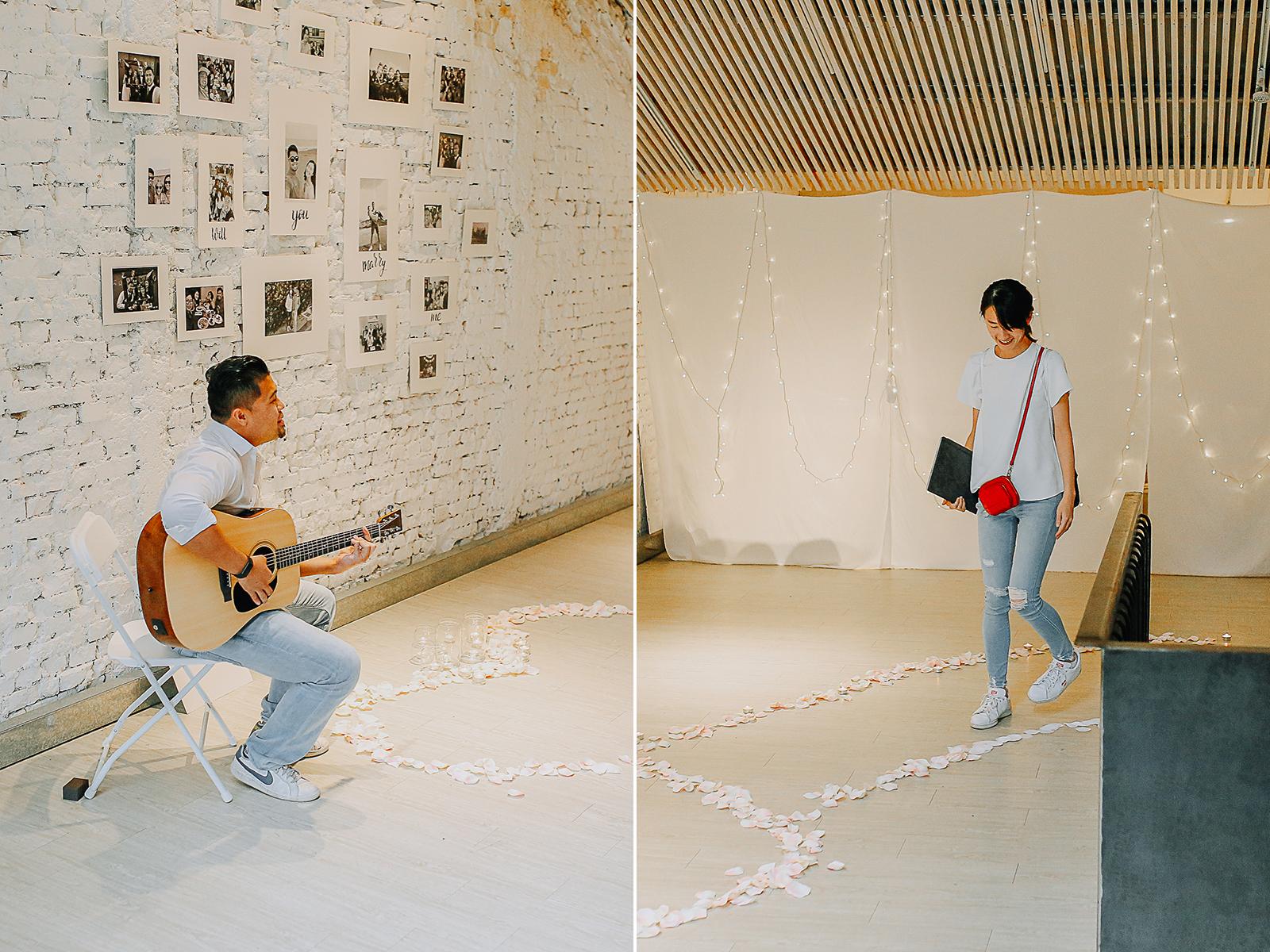 Wedding Proposal in Taiwan