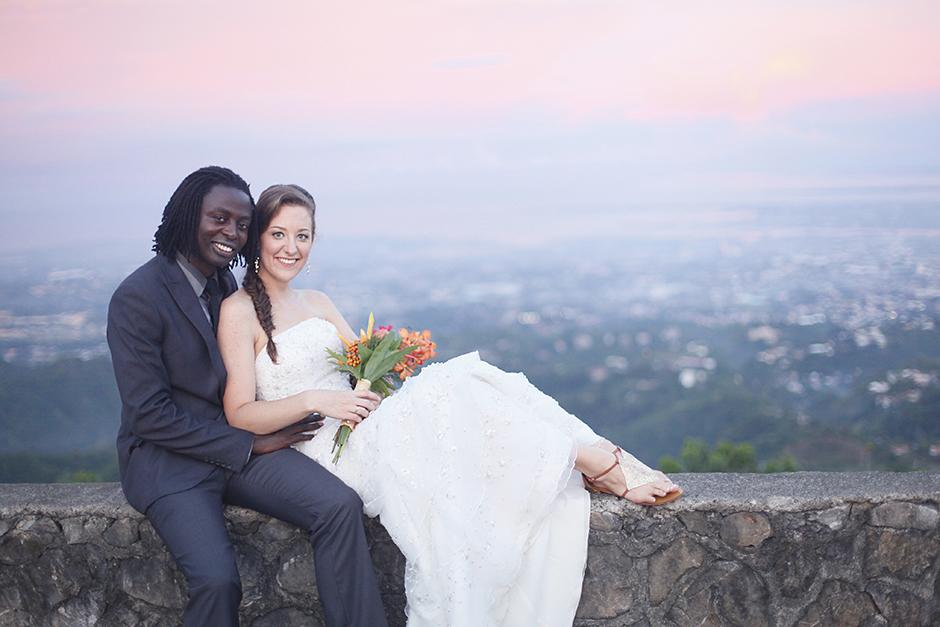 Chateau De Busay Garden Wedding – Bamshak and Makayla
