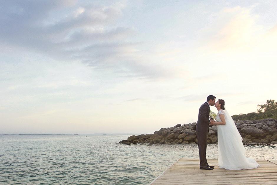 Shangri La Mactan Wedding – Marcos and Eloisa