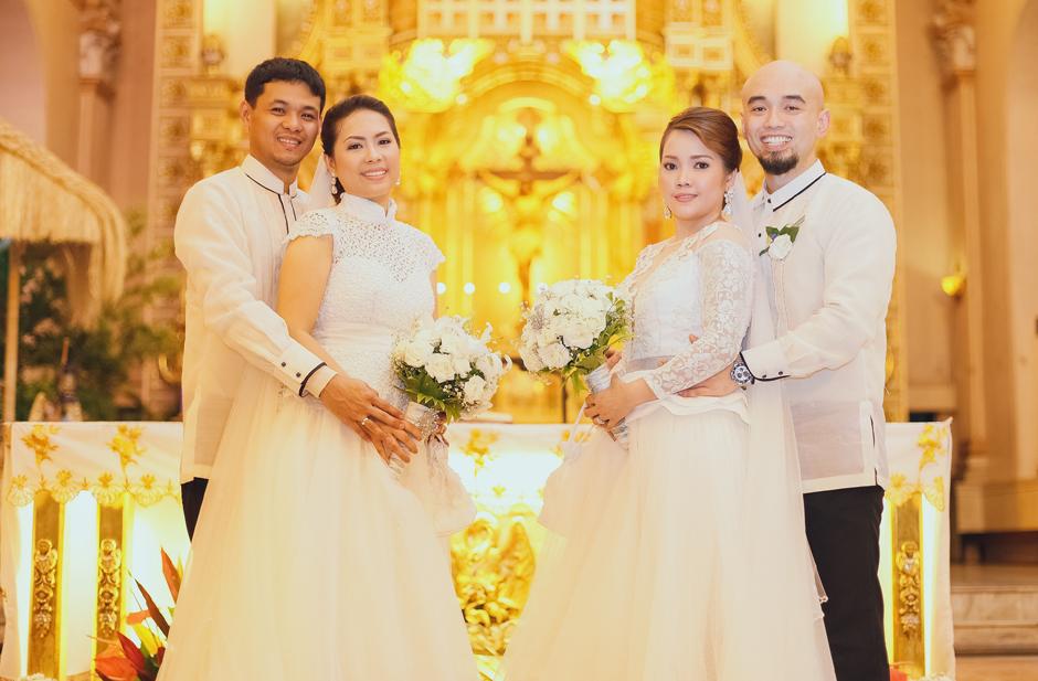 Byron + Anj / Roux + Irene : A Double Wedding