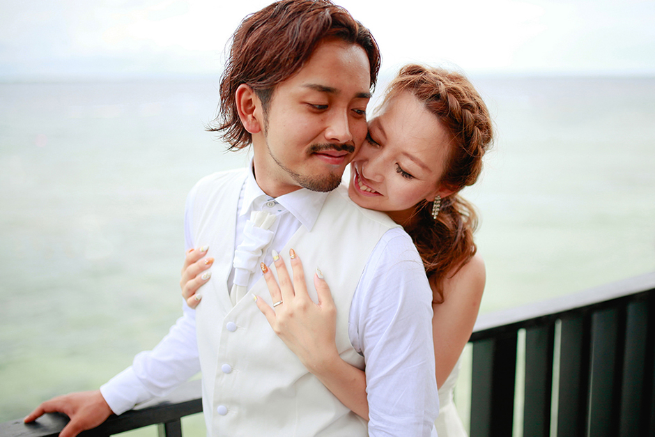 Japanese Couple Akihiro & Manami's Shangrila Mactan Post-Wedding Session