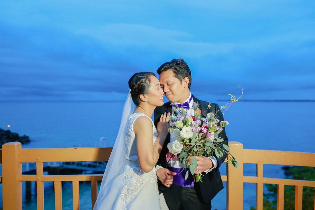Shangri-la Mactan Cebu Destination Wedding - Alex & Nina