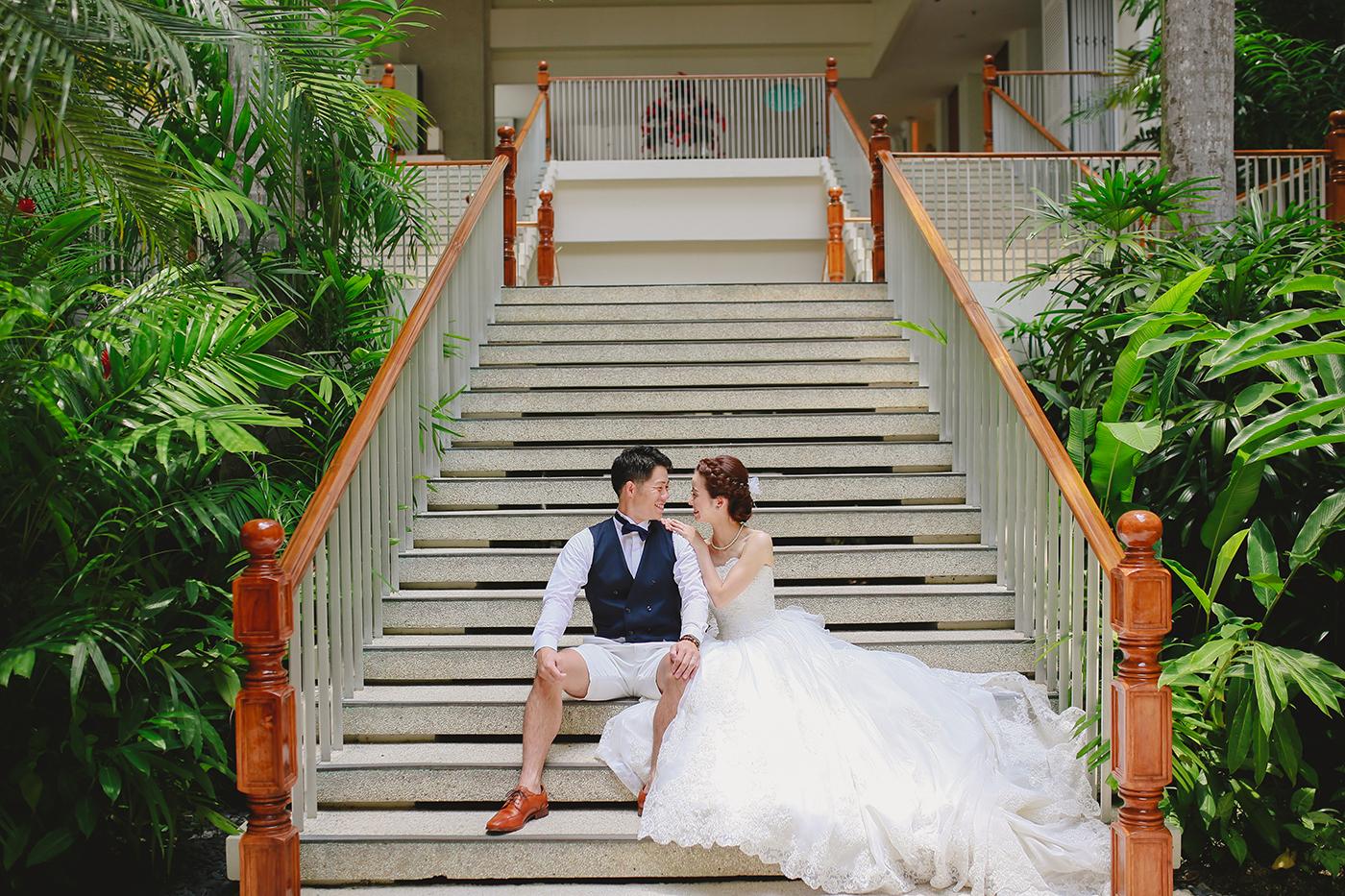 Shangri-la Mactan Post Wedding - Yudai & Kana