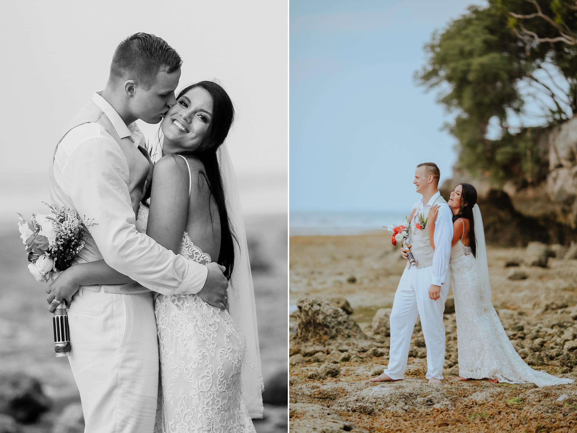 Moalboal Beach Wedding