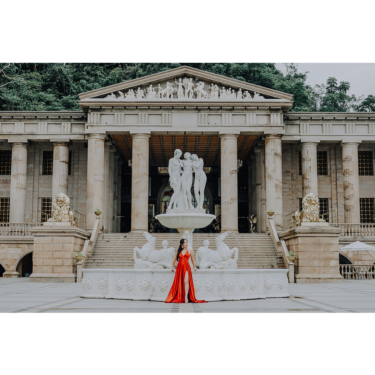Cebu Portrait Session, Temple of Leah Photoshoot